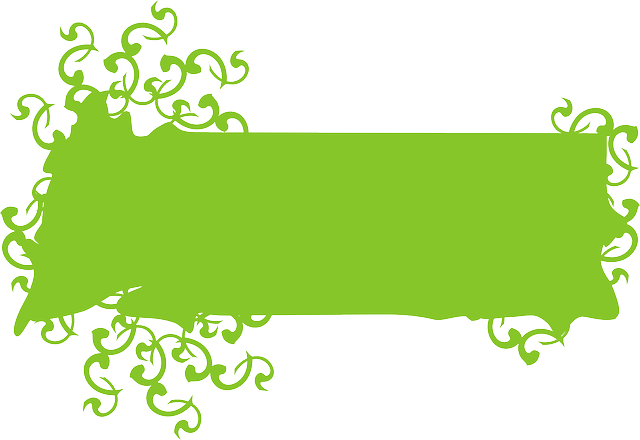 green-design-banner-blank-decoration-ivy